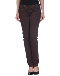 Htc Denim Pants Cocoa