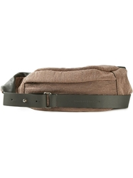Brunello Cucinelli Studded Waist Bag Brown