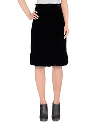 Zucca Skirts Knee Length Skirts Women Black