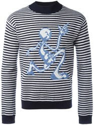 J.W.Anderson Striped Jumper Blue