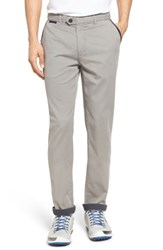 Ted Baker Men's London Water Resistant Golf Chinos Grey