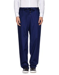 Jean Paul Gaultier Trousers Casual Trousers Men Dark Blue
