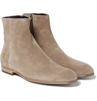 Paul Smith Maurice Suede Chelsea Boots Beige
