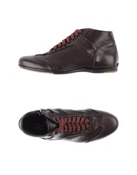 Alexander Hotto Footwear High Tops And Trainers Men Maroon