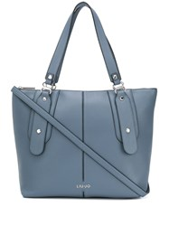 Liu Jo Faux Leather Logo Tote 60
