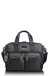 Tumi 'S Albany Slim Commuter Briefcase Grey Anthracite