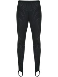 Thierry Mugler Embossed Bicycle Legging Trousers 60