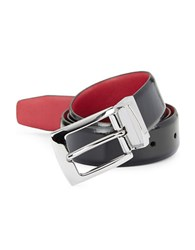 Tallia Orange Leather Belt Black