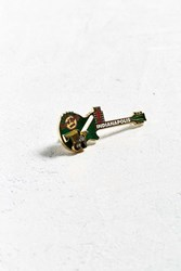 Urban Outfitters Vintage Hard Rock Cafe Indianapolis Guitar Pin Green