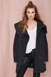 Nasty Gal Just Female Livvy Wool Coat