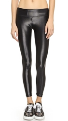 Koral Activewear Shiny Metallic Active Legging Black