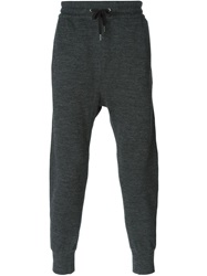 Helmut Lang Tapered Track Pants Grey