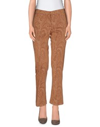 Semi Couture Trousers Casual Trousers Women Camel