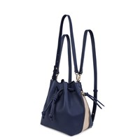 Esin Akan Mini Notting Hill Navy And Sand Blue