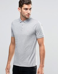 Original Penguin Winston Slim Fit Polo Shirt Grey