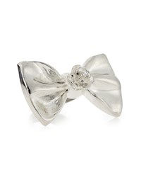 Tuleste Large Bow Ring Silver