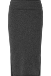 James Perse Brushed Cotton Midi Skirt