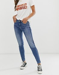 B.Young Classic Mom Jeans Blue