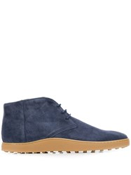 Tod's Ankle Boots Blue
