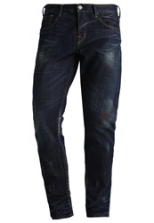 Scotch And Soda Ralston Slim Fit Jeans Obsidian Flow Dark Blue Denim