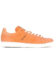 Adidas Originals Stan Smith Sneakers Unisex Leather Nylon Rubber 9.5 Brown