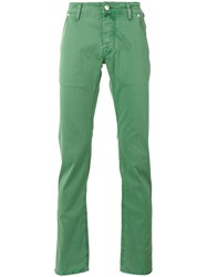 Jacob Cohen Classic Chinos Green