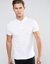Bellfield Classic Pique Polo Shirt White