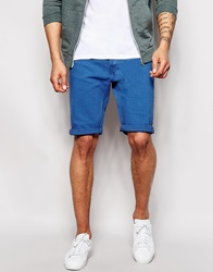 Lee Denim Shorts Straight Fit Midnightblue