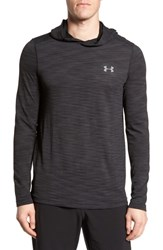 Under Armour Threadbone Fitted Seamless Hoodie Black