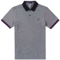 Fred Perry Colour Block Polo Black