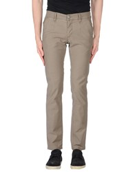 Alessandro Dell'acqua Casual Pants Dove Grey