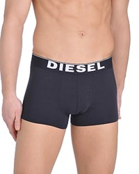Diesel Kory Stretch Cotton Boxer Shorts Pack Of 3 Black