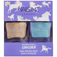 Nails Inc Sparkle Like A Unicorn Nail Polish Duo Kit 2 X 14Ml