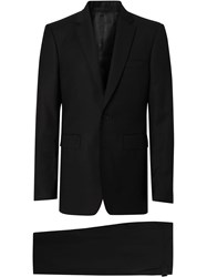 Burberry Classic Fit Wool Suit Black