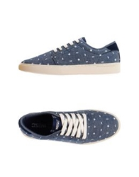 Wesc Low Tops And Trainers Slate Blue