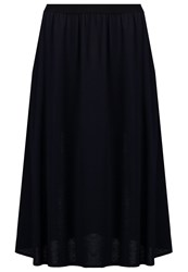 Mbym Haya Aline Skirt Night Sky Dark Blue