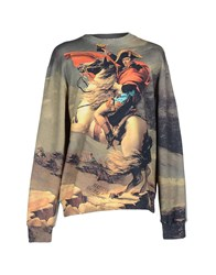 Frankie Morello Topwear Sweatshirts Men Grey