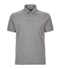 Tom Ford Pique Polo Shirt Male