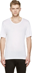 Blk Dnm White Relaxed T Shirt