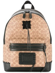 Coach Academy Backpack Brown