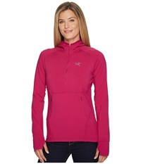 Arc'teryx Zoa Hoodie Light Chandra Sweatshirt Red