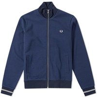 Fred Perry Funnel Neck Sweat Blue