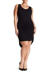 Vanity Room Knotted Knit Tank Dress Plus Size Black