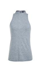 Tibi Wool Jersey Sleeveless Top