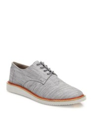 Toms Classic Cotton Brogues Grey