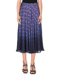 Band Of Outsiders Skirts 3 4 Length Skirts Women Blue