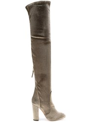 Aquazzura Tall Boots Green
