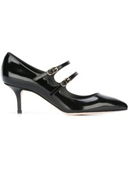 Dolce And Gabbana Mary Jane Pumps Black