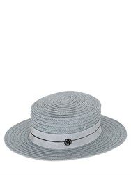 Maison Michel Kiki Colored Straw Hat