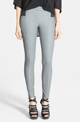 Women's Glamorous Faux Leather Leggings Grey